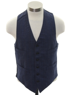 1960's Mens/Boys Wool Suit Vest