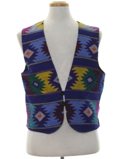 1990's Mens Hippie Vest