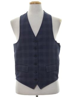 1970's Mens Reversible Disco Suit Vest