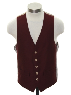 1970's Mens/Boys Disco Suit Vest
