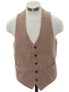 1970's Mens/Boys Corduroy Suit Vest
