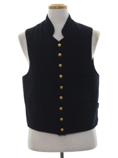 1990's Mens Wicked 90s Wool Suit Vest