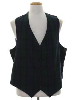 1990's Mens Wool Vest