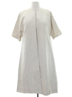 1960's Womens/Girls Dress And Duster Set