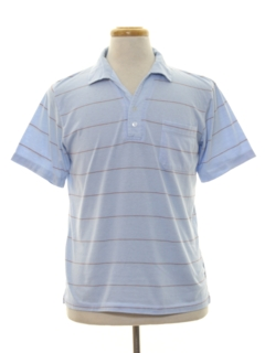 1980's Mens Knit Golf Shirt