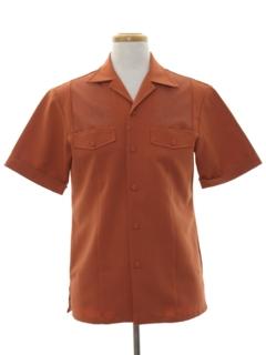 1980's Mens Mod Hawaiian Shirt Jac