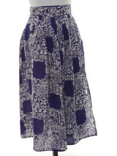 1980's Womens Hippie Wrap Skirt