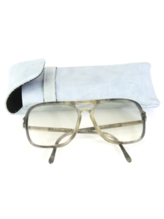 1980's Mens Accessories - Totally 80s Designer Prescription Glasses
