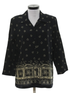 1990's Womens Secretary Shirt
