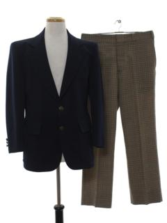 1970's Mens Combo Sport Suit