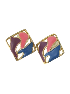 1980's Womens Accessories - Jewelry Totally 80s Earrings