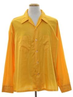 1960's Mens Mod Sport Shirt