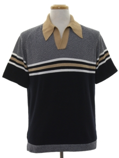 1970's Mens Knit Shirt