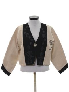 1990's Unisex Hippie Vest Jacket