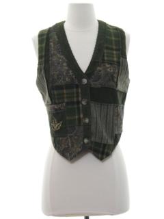 1990's Womens Hippie Vest