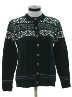 1980's Womens Snowflake Sweater
