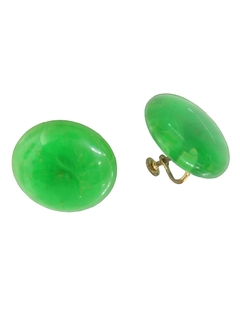 1960's Womens Accessories - Screw Back Earrings