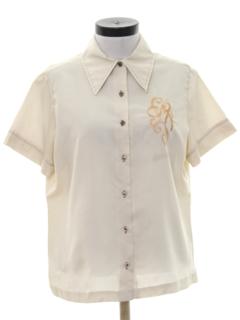 1970's Womens Mod Sport Shirt