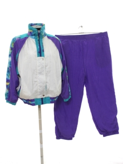 1980's Womens Totally 80s Track Suit