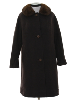 1950's Womens Wool Duster Jacket