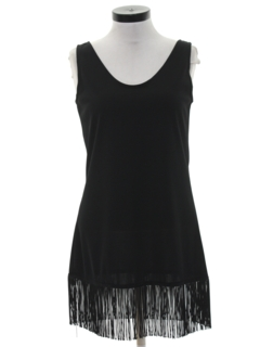 1990's Womens Mini Flapper Style Cocktail Dress