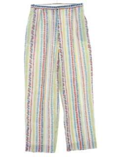 1960's Womens Hippie Pants