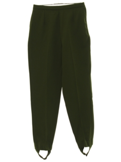 1960's Womens Stirrup Pants