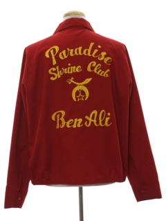 1960's Mens Embroidered Club Jacket
