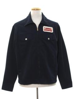 1980's Mens Zip Work Jacket