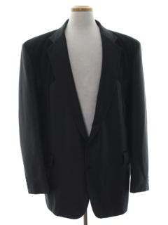 1980's Mens Western Style Blazer Sportcoat Jacket