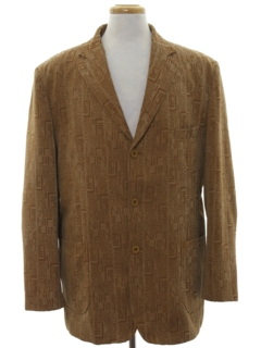 1990's Mens Mod Blazer Sport Coat Jacket