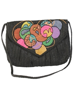 1980's Womens Accessories - Totally 80s Designer Purse