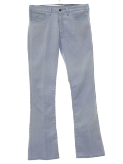 1970's Mens Wide Flared Jeans-cut Pants