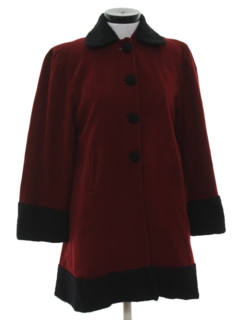 1940's Womens Wool Jacket