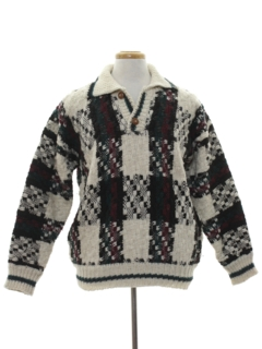 1990's Mens Wicked 90s Wool Sweater