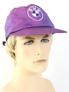 1980's Mens Accessories --Trucker Baseball Hat