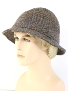 1980's Mens Accessories - Wool Fedora Pendleton Hat