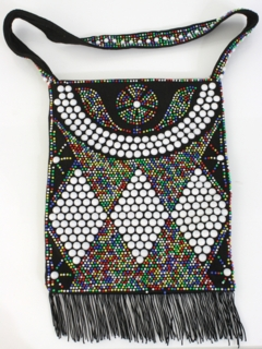 1970's Womens Accessories -Beaded Purse
