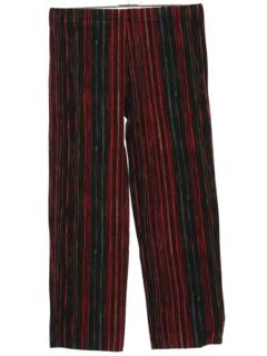 1970's Womens Mod Velvet Pants
