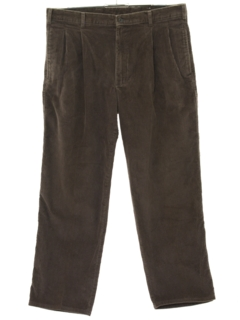 1990's Mens Corduroy Pleated Pants