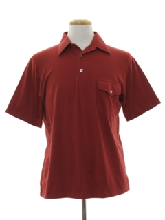1980's Mens Polo Style Golf Shirt
