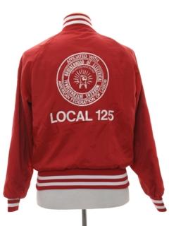 1980's Mens Baseball Jacket