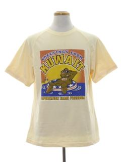 1990's Mens Military T-shirt