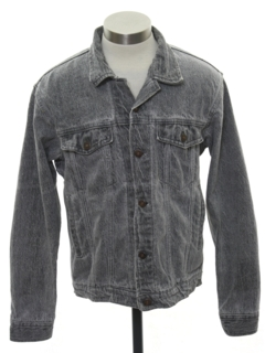1980's Mens Acid Washed Denim Jacket