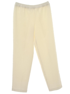 1980's Womens Polyester Pants