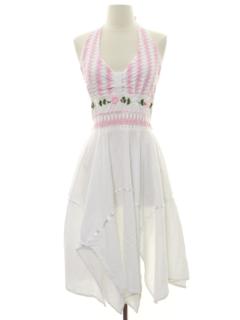 1990's Womens Hippie Dress