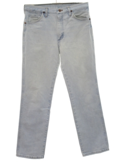 1980's Mens Straight Leg Denim Jeans Pants