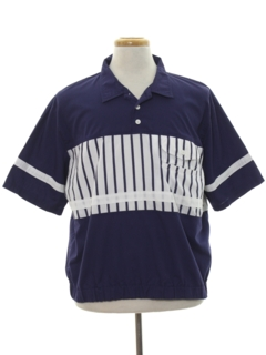 1980's Mens Totally 80s Golf Style Shirt