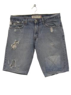 1990's Mens Grunge Denim Jeans Shorts