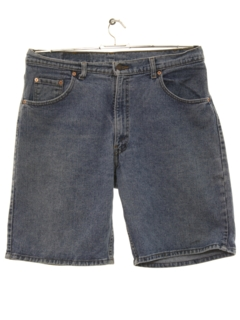 1980's Mens Denim Jeans Shorts
